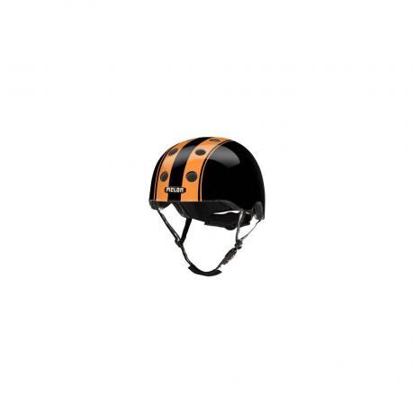 S016G Шлем Melon Double Orange Black XL-XXL 58-63