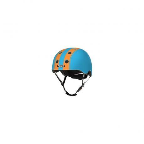 S027M Шлем Melon Double Orange Blue XL-XXL 58-63