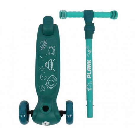Самокат PLANK COSMIC (зеленый)