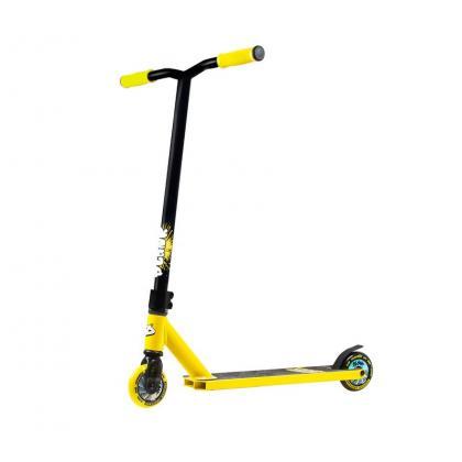 Самокат трюковой PLANK HOP (желтый)