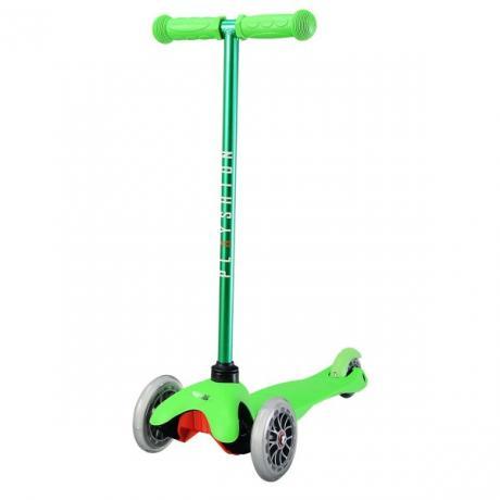Мини самокат Playshion зеленый