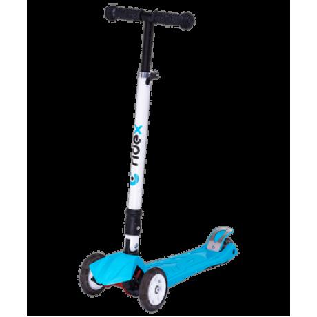 Самокат 3-колесный Smart 3D, 120/80 мм, синий