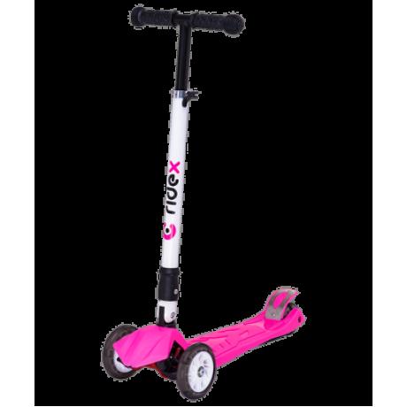 Самокат 3-колесный Smart 3D, 120/80 мм, розовый