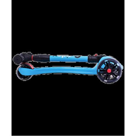 Самокат 3-колесный Stark 3D, 135/90 мм, синий