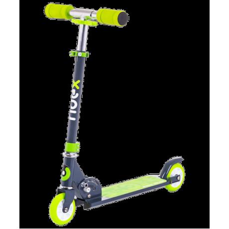 Самокат 2-колесный Sonic 100 мм, зеленый
