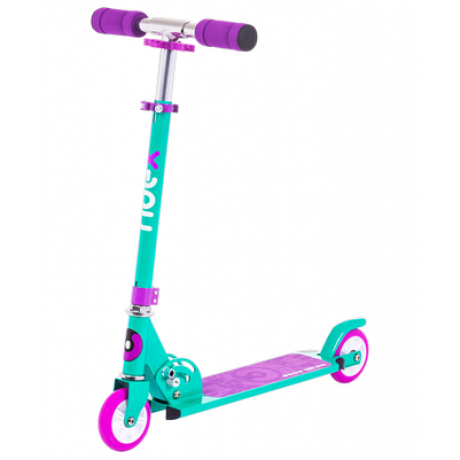 Самокат 2-колесный Sonic 100 мм, фиолетовый