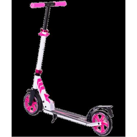 Самокат 2-колесный Echo 2.0 180 мм, белый/розовый
