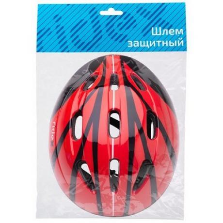 Шлем защитный Rapid, красный