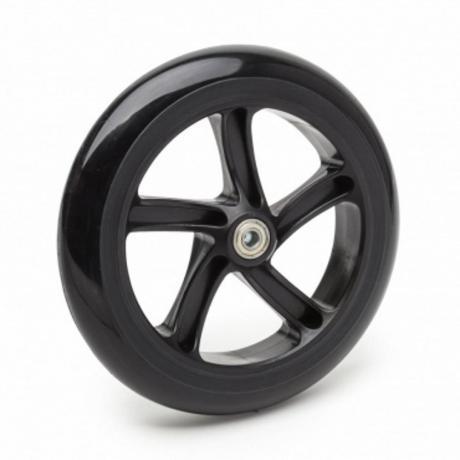 Колесо с подшипниками 230  мм Черное