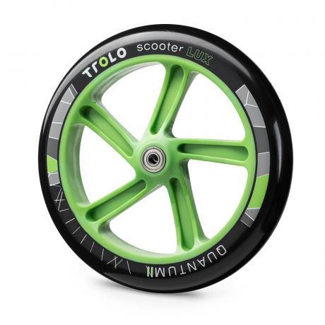 Колесо с подш.Trolo Quantum 2 230 мм  черно/зеленый