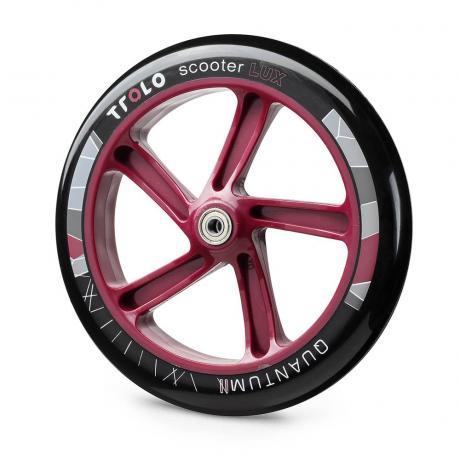 Колесо с подш.Trolo Quantum 2 230 мм черно/бордовый