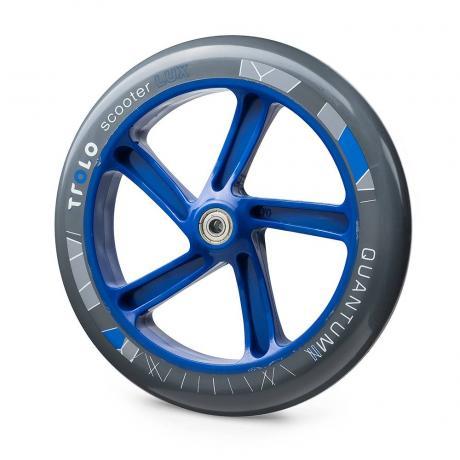 Колесо с подш.Trolo Quantum 2 230 мм  серый/синий