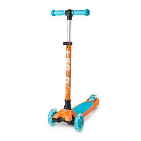 Самокат Trolo Maxi оранжевый/голубой 2017