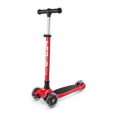 Самокат Trolo Maxi красный/черный 2017