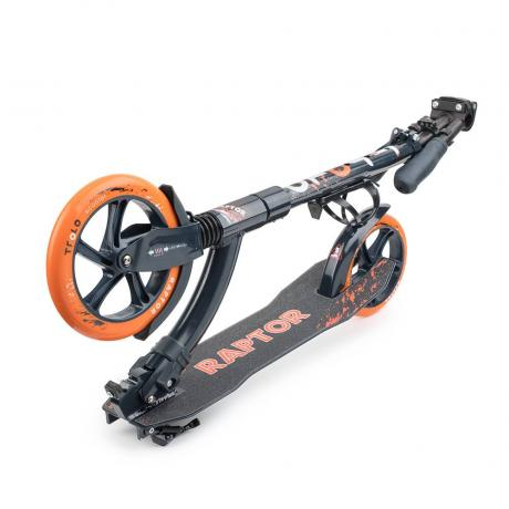 Самокат Trolo Raptor orange-graphite