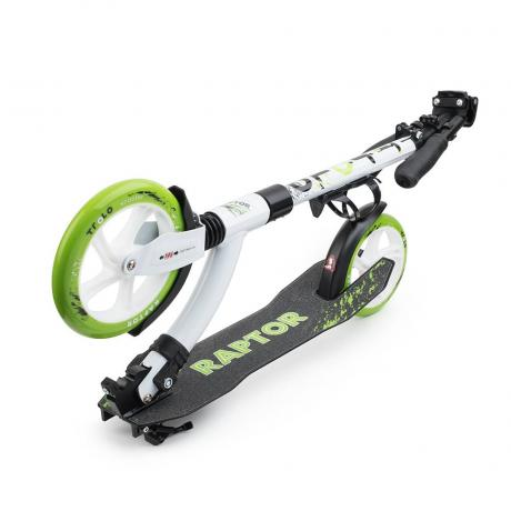 Самокат Trolo Raptor white-green