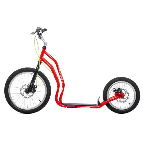 Самокат Yedoo Mezeq Disc NEW red/black 18%